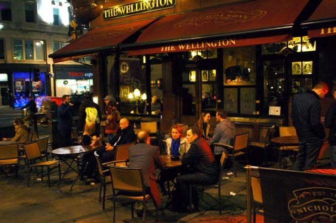 Londres_the Wellington Inn