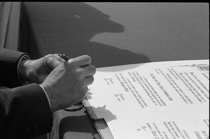 Saint Renan - Watchet _ signature de la charte (1)